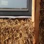strobalen hooiberg, geldermalsen giesen bouwenmetstrobalen biobased bouwen met strobalen woning strobouw houtskelet strobalenbouw ecologische architect architectuur groen green zelfbouw