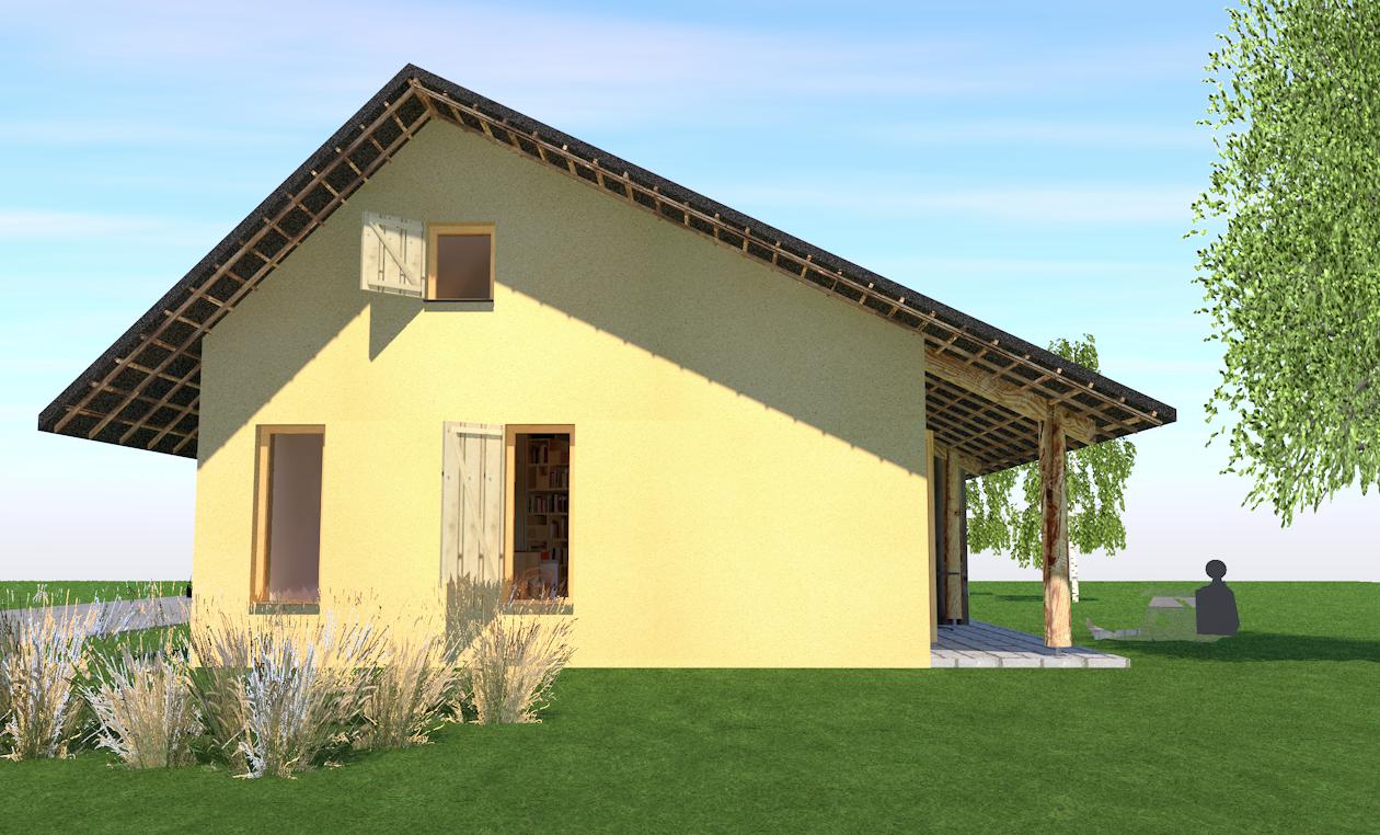 Architect Kleine Woning : Giesen biobased bouwen met strobalen kleine woning langerak