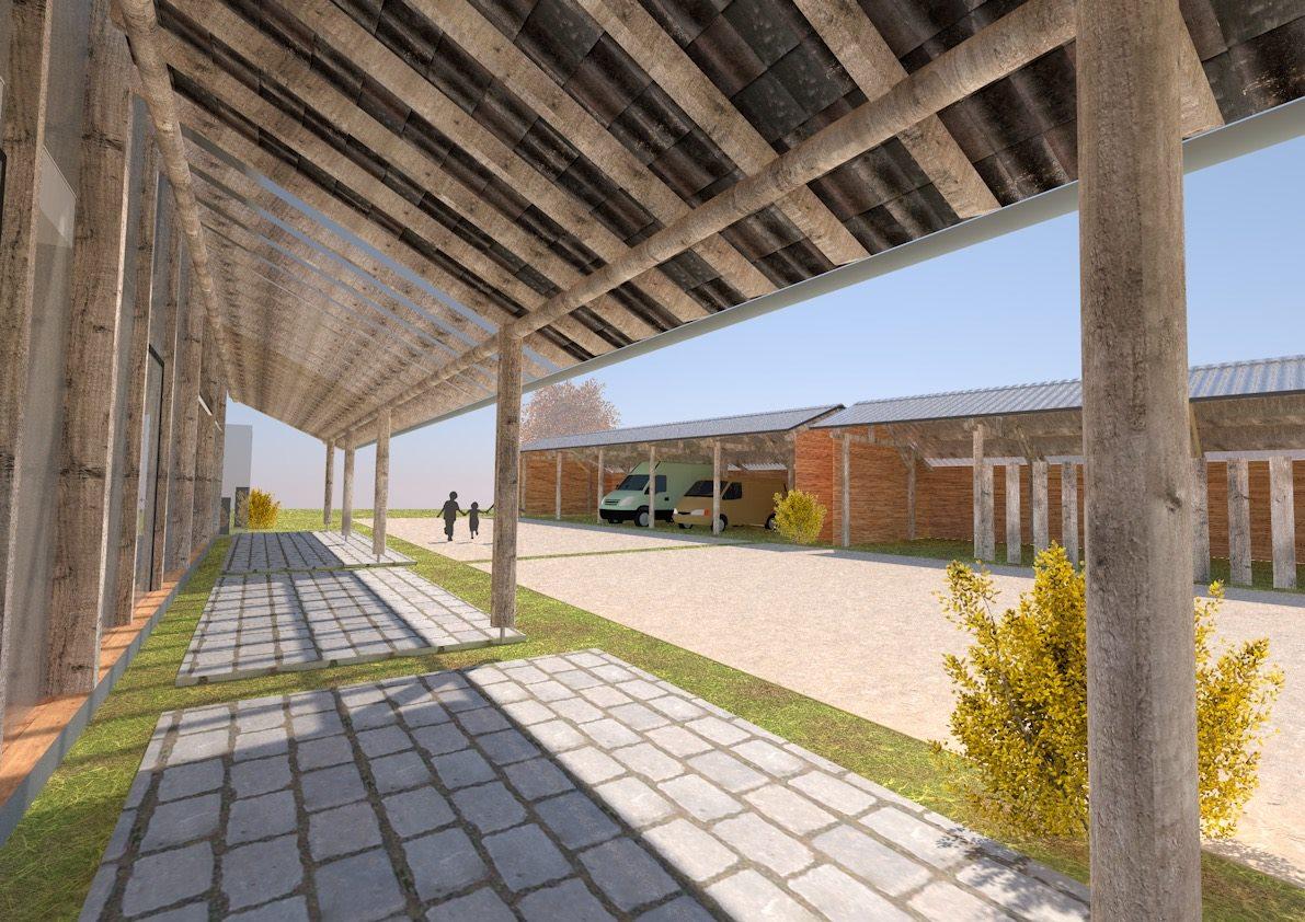Biobased Kantoor schuurkantoor