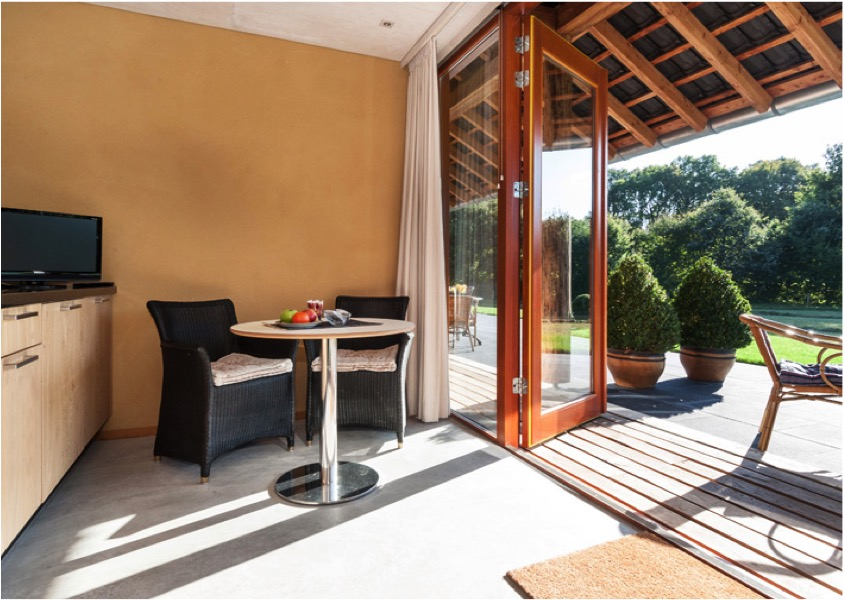strobalen bed & breakfast B&B de Wandhorst Giesen Architectuur bouwen met strobalen 03